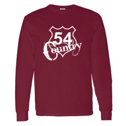 54 Country Long Sleeve T-shirt Thumbnail
